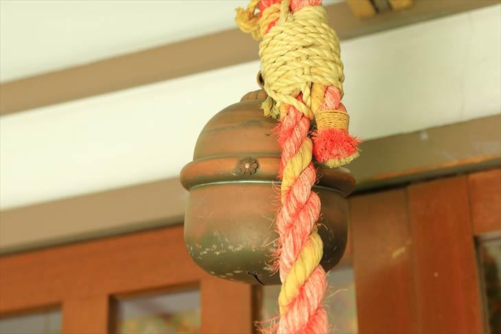 上手稲神社の鈴