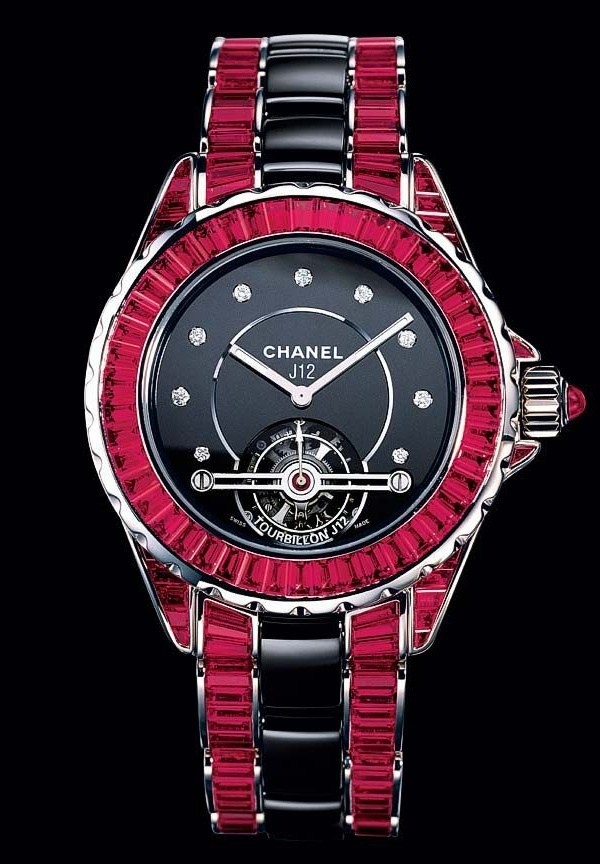 CHANEL J12 TOURBILLON HIGH JEWELRY H1711 38mm