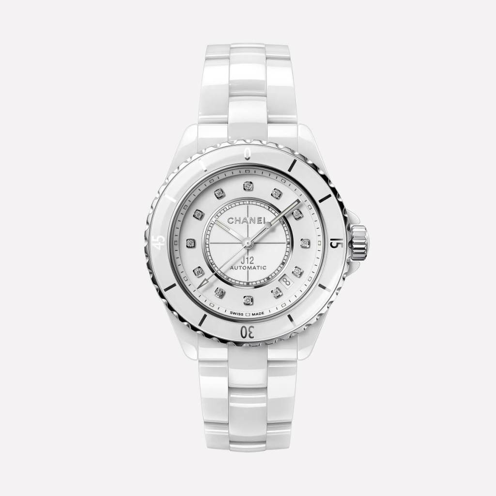 CHANEL J12 WHITE 38mm H5705