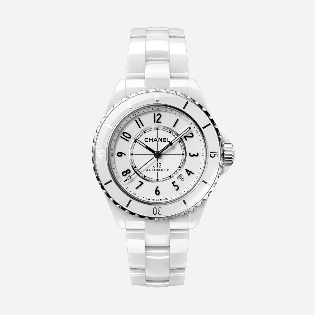 CHANEL J12 WHITE 38mm H5700