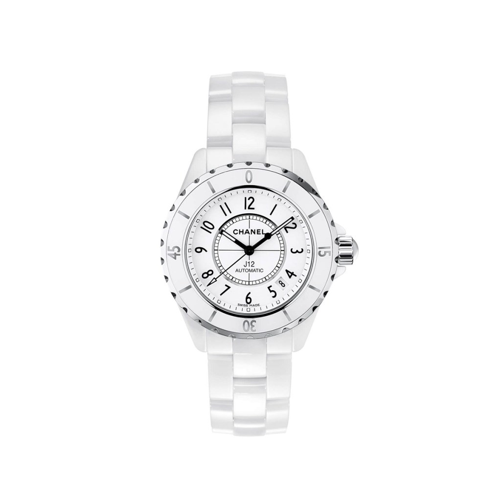 CHANEL J12 WHITE 38mm H0970