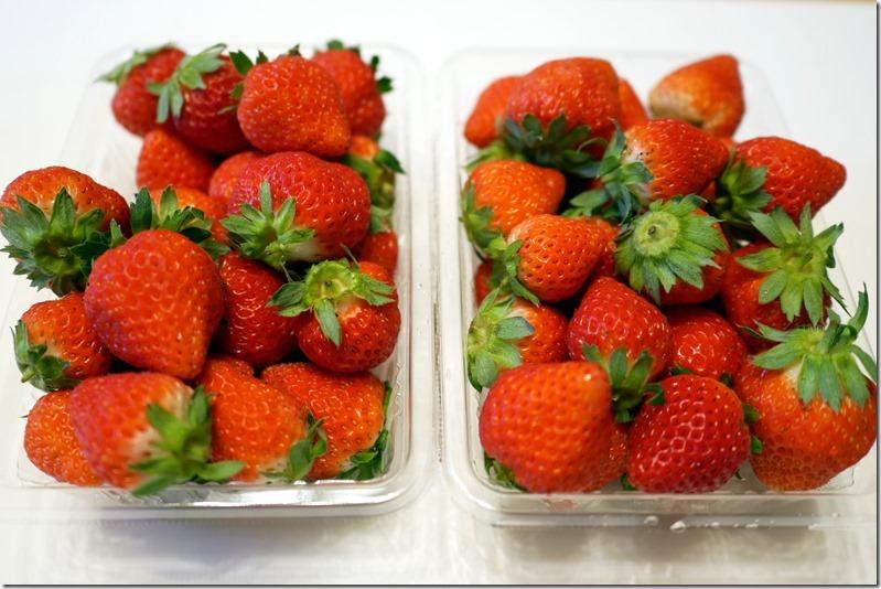 余市のジジヤババヤで「HATA NO NAKA」苺が販売されているときいて、食べてみたいものだと