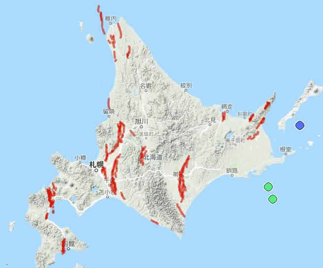 札幌圏の活断層と防災MAPについて