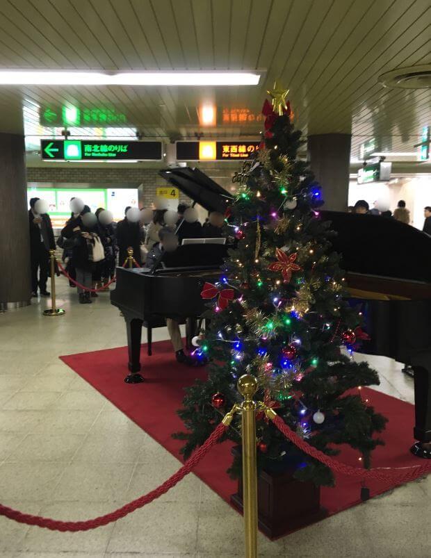駅 ストリート ピアノ 札幌