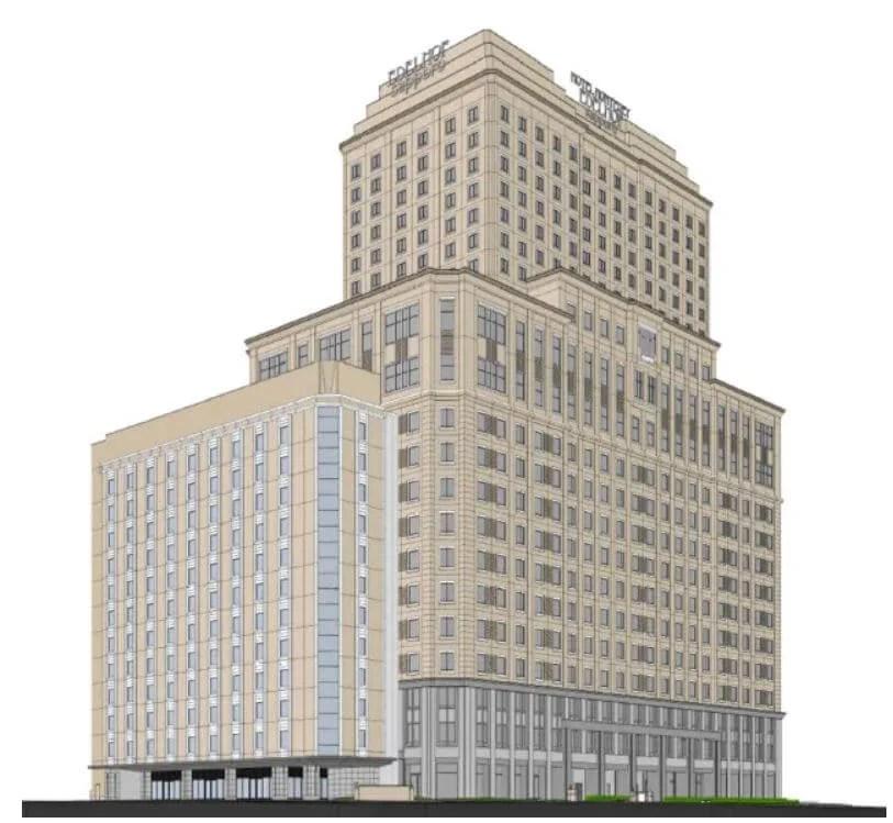 ホテルモントレエーデルホフ増築