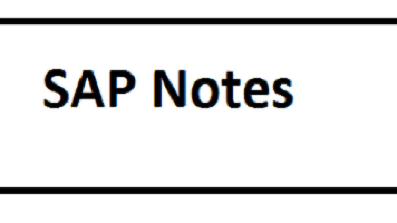 FAQ: SAP HANA Parameters | SAP Posts