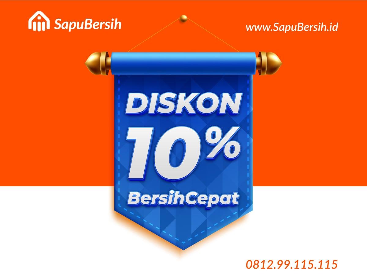 BersihCepat Home cleaning service Bandung Harga Murah