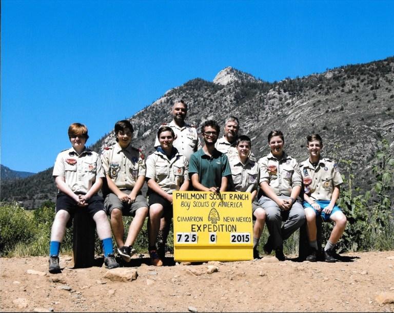 Troop 224 Takes on High Adventure