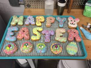 Easter donuts are available by request!