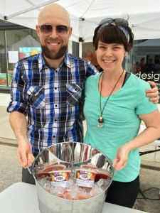 Russell and Meagan Wagner have been perfecting their salsa recipe for over ten years.