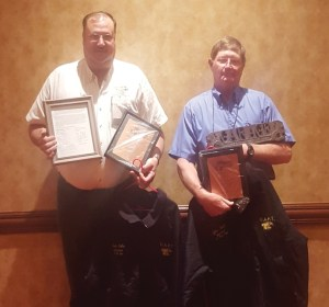 Kevin Holba, Central Tech, Drumright, was awarded OAPT Administrator of the Year and Tyler North, Central Tech, Drumright, was awarded OAPT Mechanic of the Year.