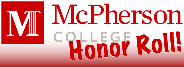 PHOTOS: 2 Sapulpa Students, 2 Other Area Students Make McPherson College Honor Roll