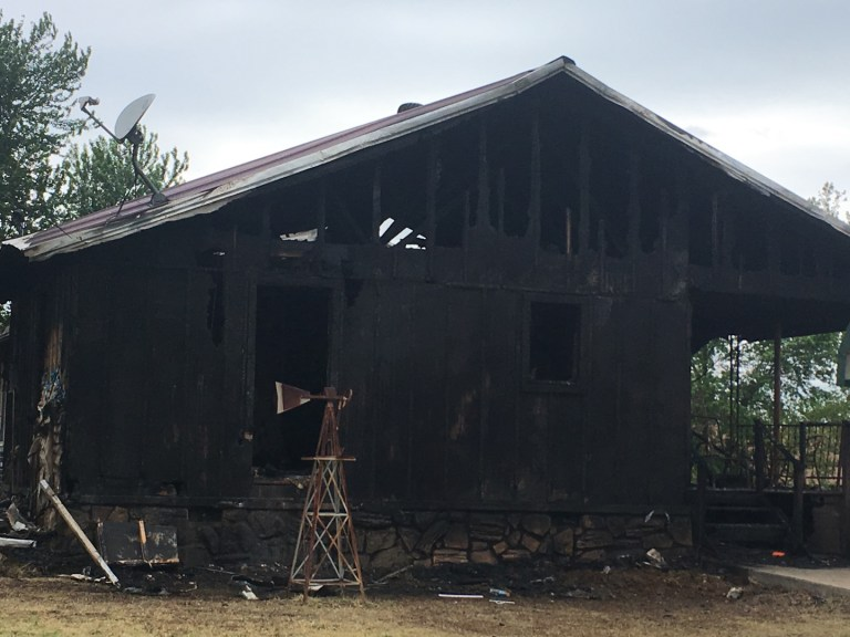 Behind Charred Walls: Eye-Witness Accounts Raise Questions in Drumright Murder-Suicide