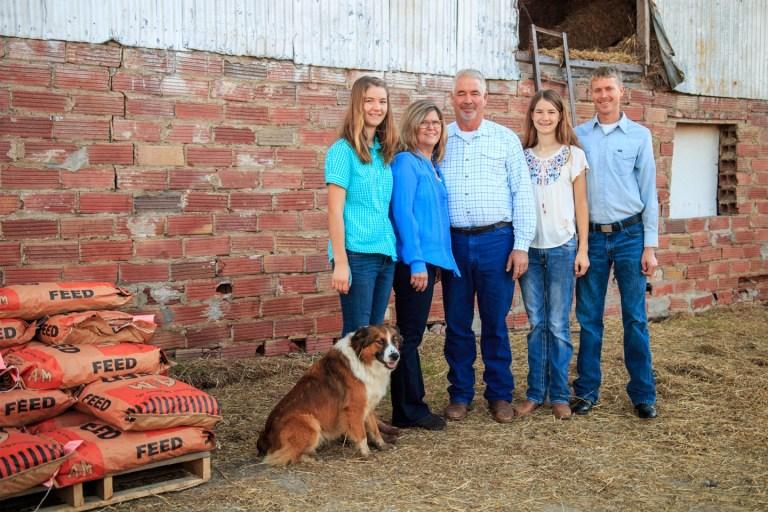 "Bristow family honored as OK Farm Bureau ""District Nine Farm and Ranch Family"""
