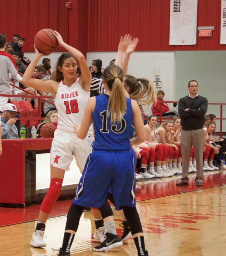 Kiefer Lady Trojans remain undefeated in win against Depew