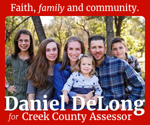 Daniel DeLong for Creek County Assessor