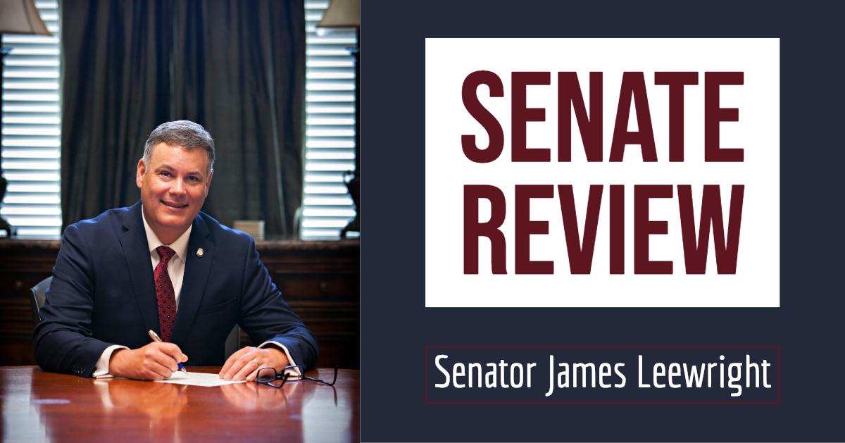 Senate Review with Senator James Leewright
