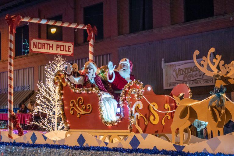 The annual Sapulpa Christmas parade has been canceled