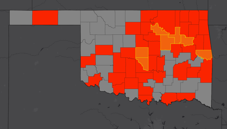 COVID-19 now covers more than half of Oklahoma; Governor issues travelers from six states to self-quarantine