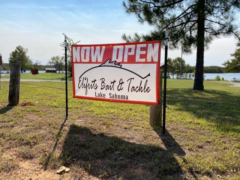 Lake Sahoma bait shop reopens as Elifrits Bait & Tackle