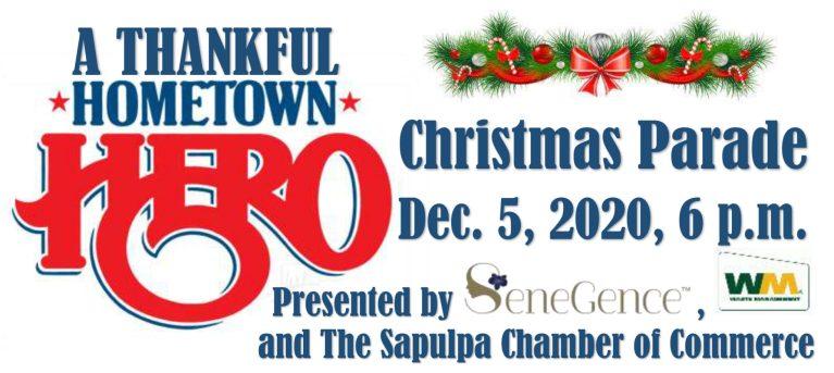 """A Thankful Hometown Hero Christmas"" twinkles through town Sapulpa Dec. 5"