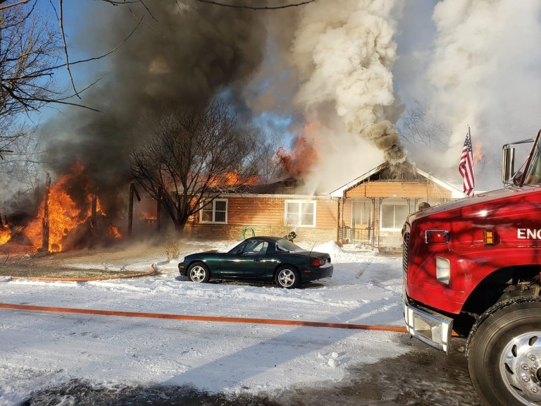 Former Kellyville mayor loses truck and house in fire