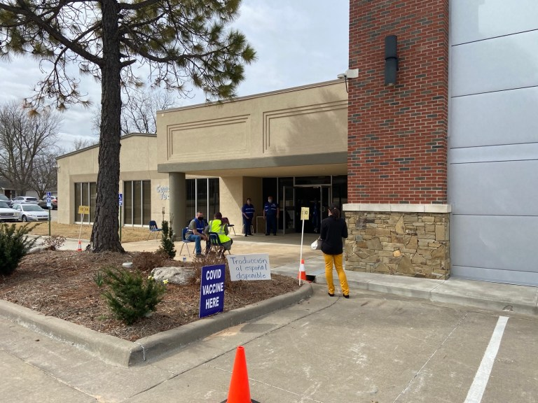 Central Tech holds successful vaccination pod with Creek County Health Department