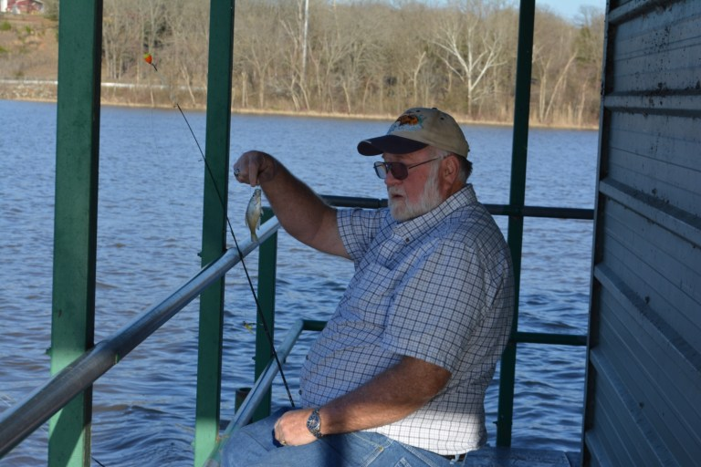 Possible overpopulation of small panfish at local lakes not deterring anglers from enjoying the outdoors