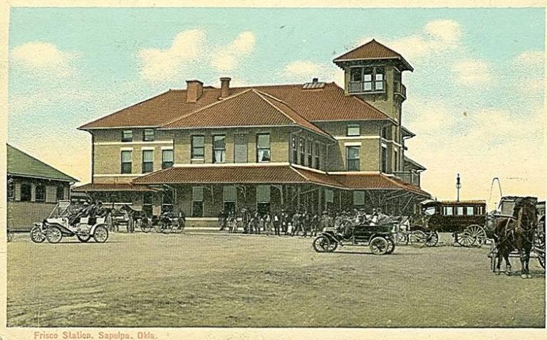 Sapulpa's Railroad History: The Harvey House