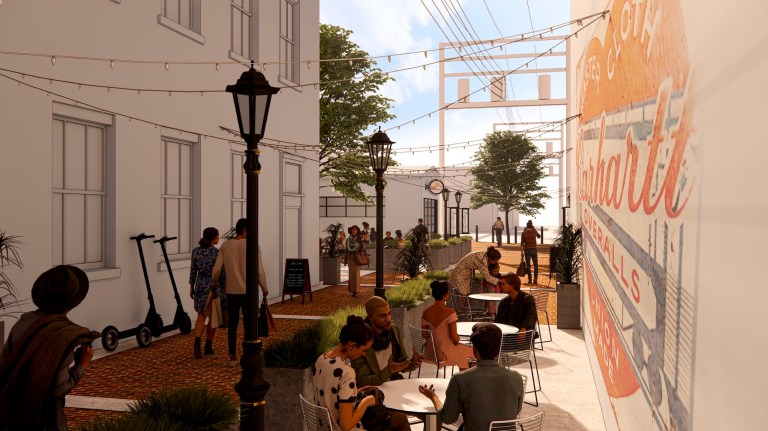 Downtown Destination: Downtown alleyway to receive extensive makeover to turn it into a pedestrian-friendly destination