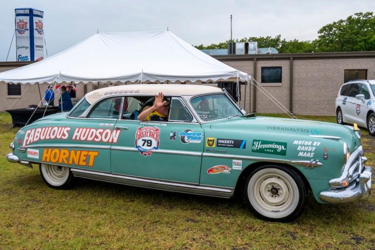 PHOTOS: Great Race brings vintage cars to Sapulpa