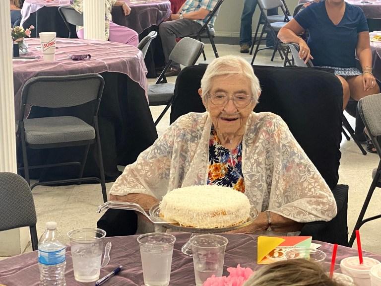 Happy 99th birthday, Alma Pruitt!