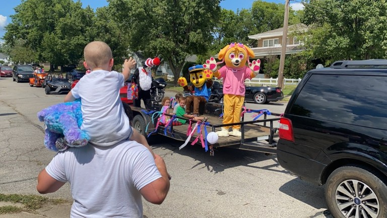PHOTOS: Drive-By Birthday: Citizens hold parade for birthday girl