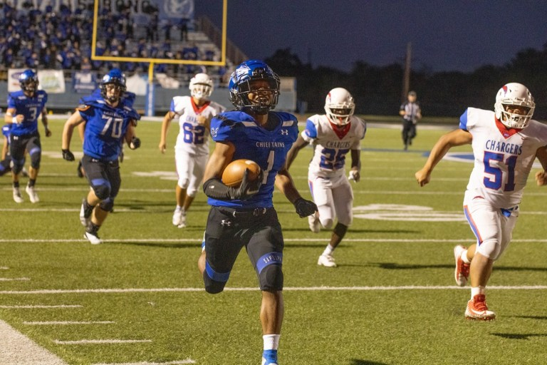 Sapulpa conquers the Chargers 47-8