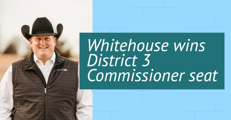 Whitehouse wins Creek County District 3 Commissioner seat