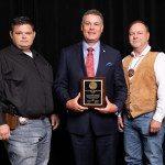 Leewright receives award from Sheriffs' Association