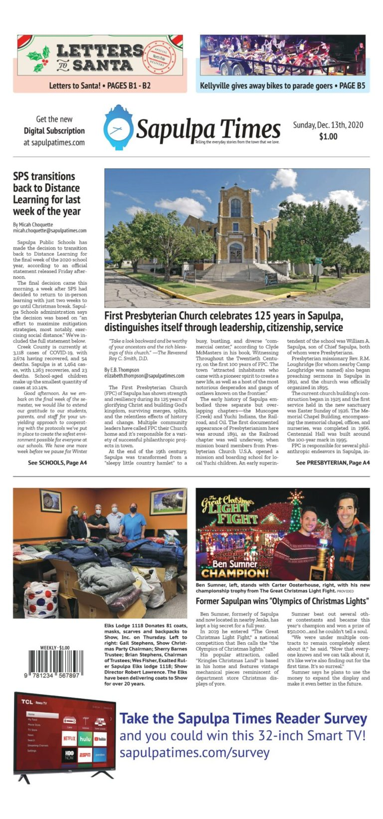 Sapulpa Times Digital Edition 12/13/2020
