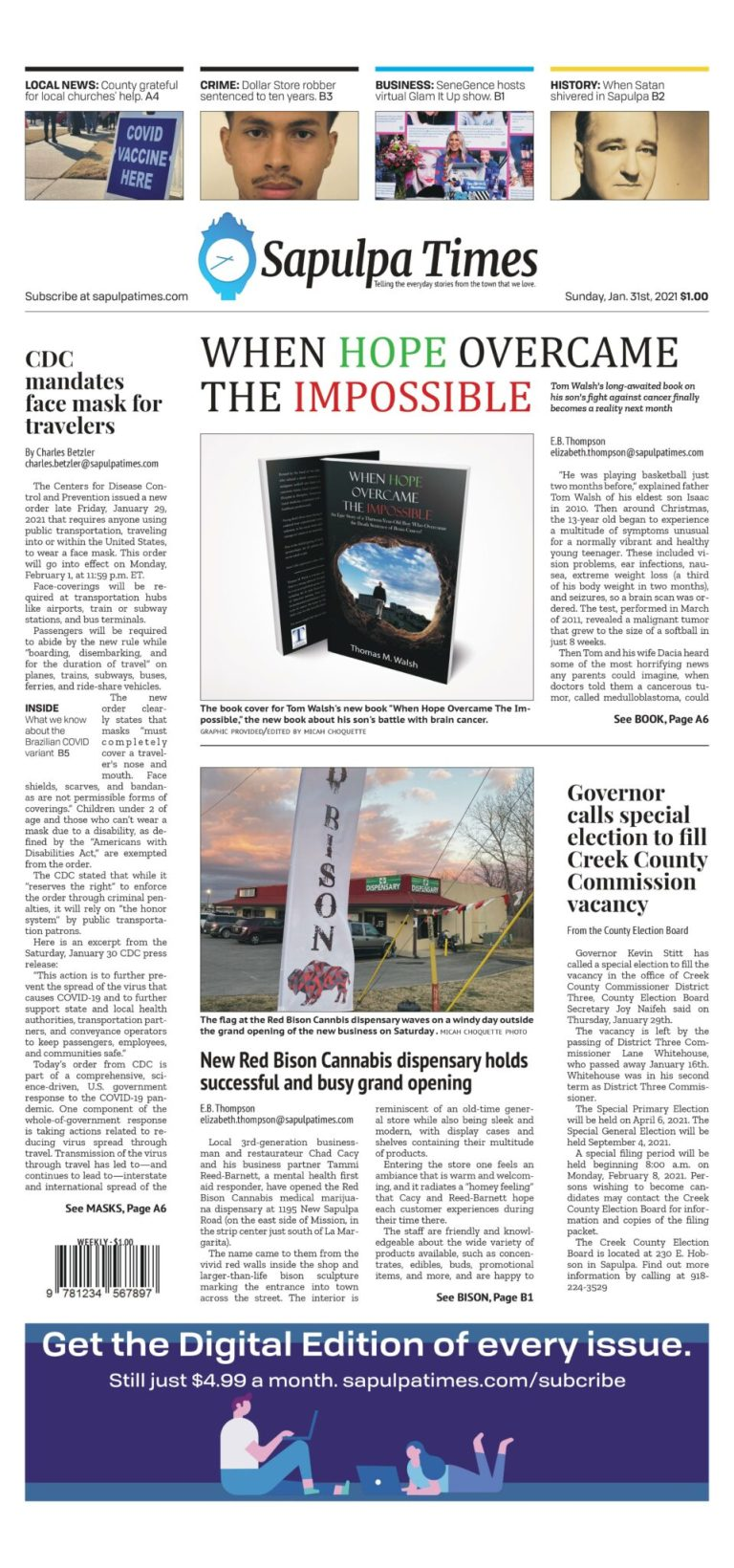 Sapulpa Times Digital Edition 01/31/2021