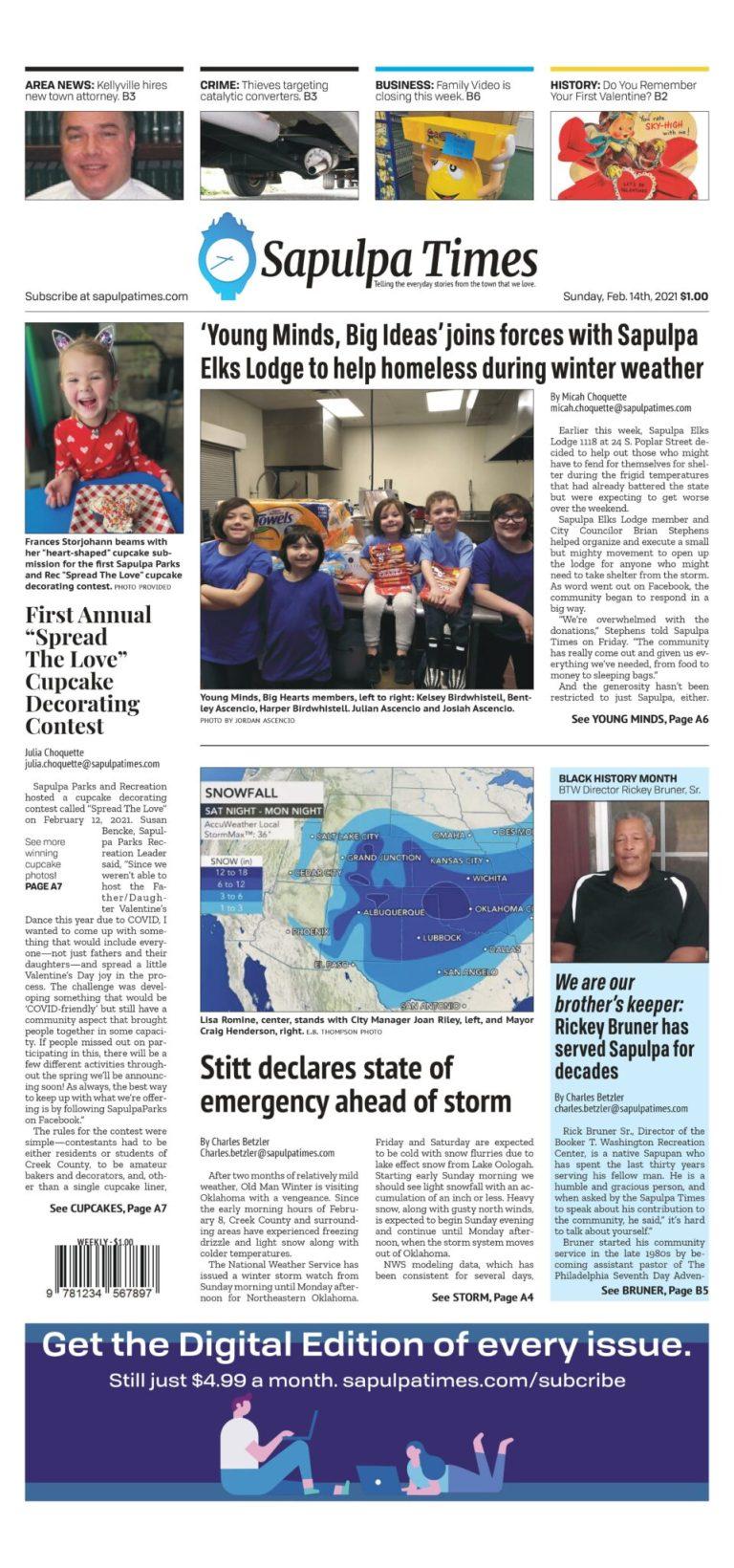 Sapulpa Times Digital Edition 02/14/2021