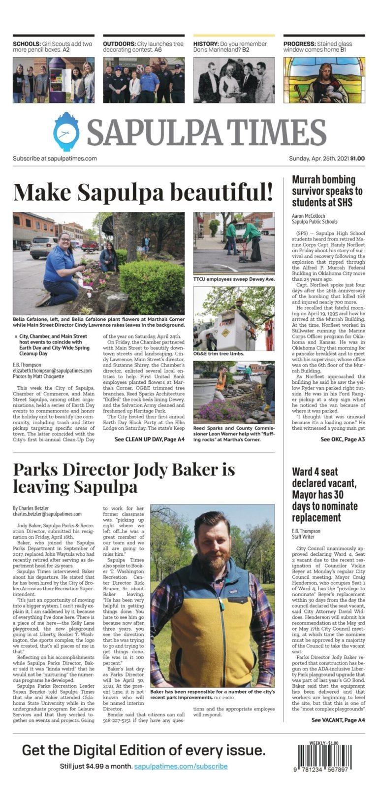 Sapulpa Times Digital Edition 04/25/2021