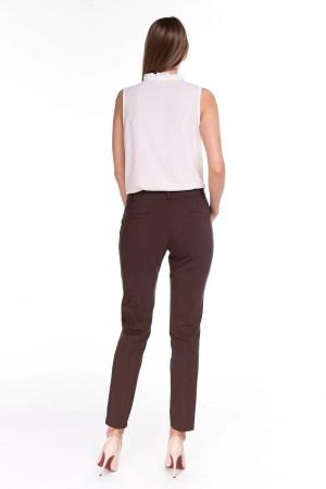 Spodnie Classic Brązowe