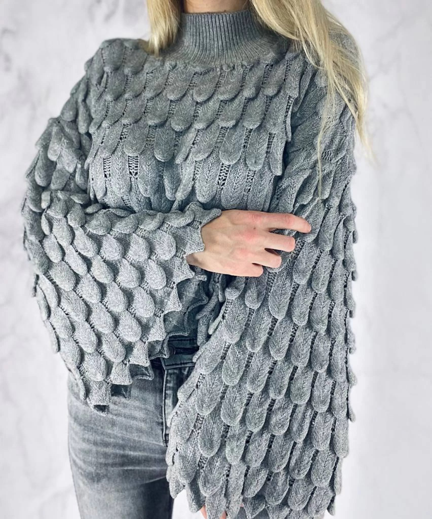 Sweter Bat Grey