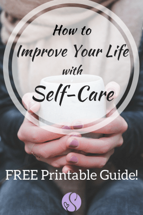 Self-care can improve your life in many ways. If you're just getting started on your self-care journey, take a look at the benefits you can gain and get started with my FREE simple guide to daily self-care!