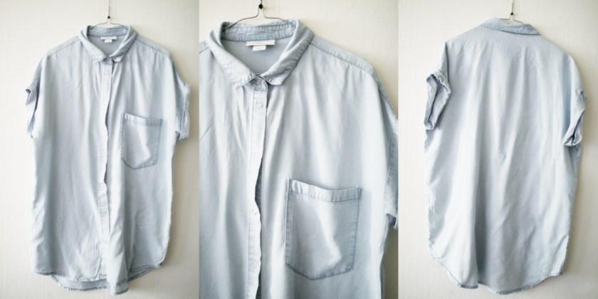 07 - over size skjorta från monki