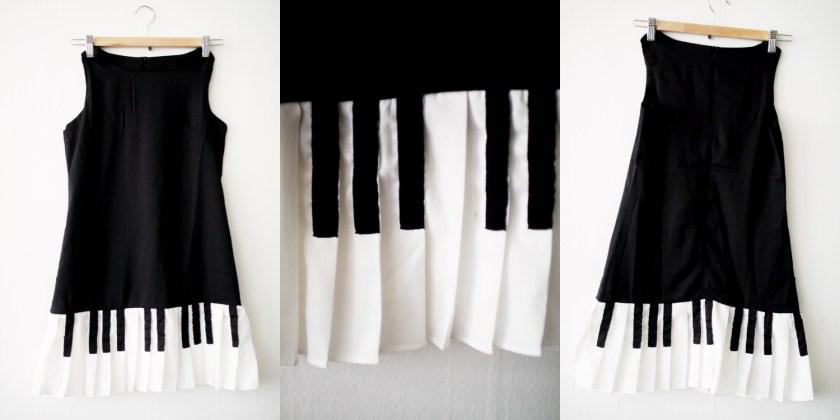 09 – pianoklänning