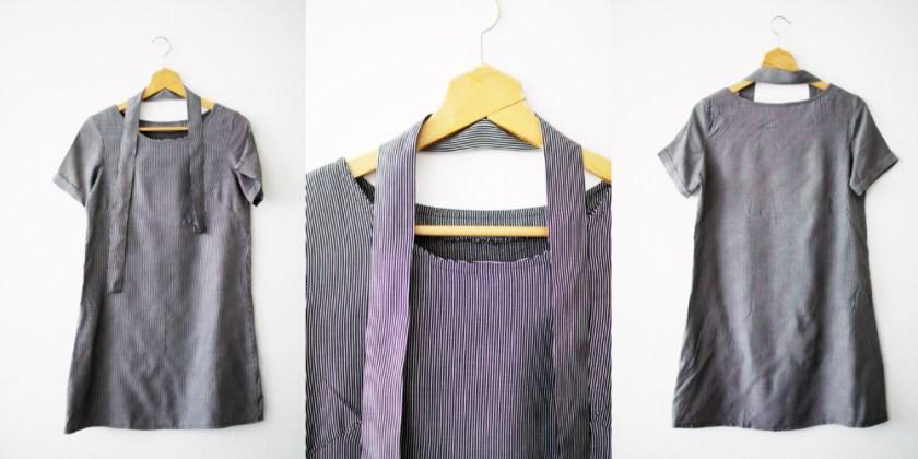 11 - A-linjeklänning