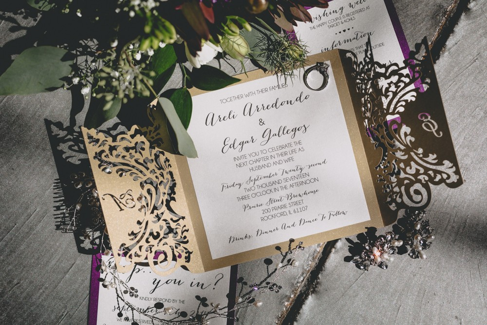 Dockside wedding invitations