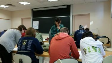 Teaching at BU.