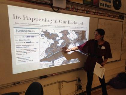 Sea level rise maps