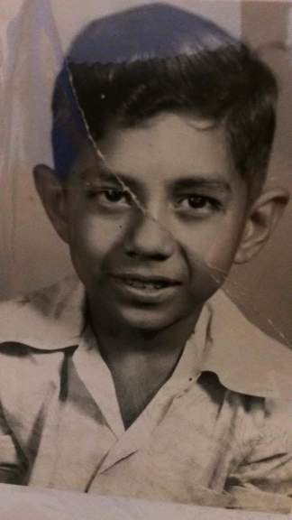 Little Pablo Cano Jr. (One of the only pictures we have of him as a child.)